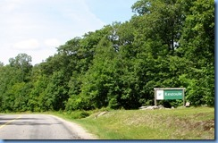 7106 Hwy 534 - Restoule Provincial Park sign