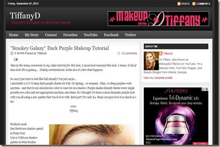 Blogue de Maquilhagem