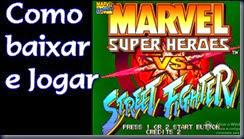 Como baixar e jogar Marvel Super Heroes Vs Street Fighter, Arcade
