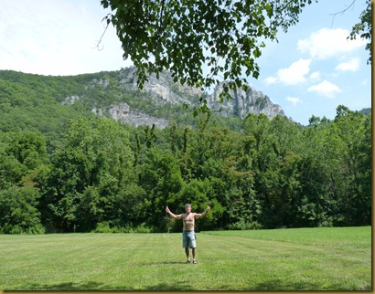 Seneca Rocks WV-View from the picnic area