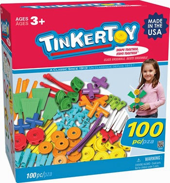 50% off Tinker Toys