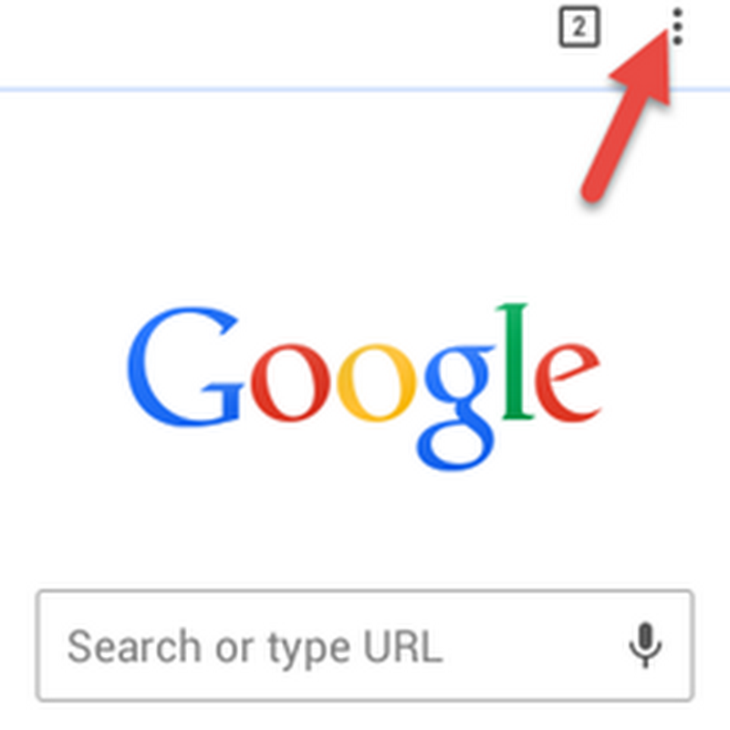 ล้างประวัติการใช้งาน Google Chrome ใน Android