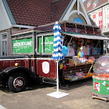 luckyloto game candy truck at huis ten bosch in Sasebo, Nagasaki, Japan