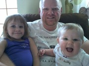 daddy and his girls 9-15-11