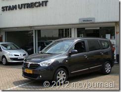 Proefrit Dacia Lodgy 13
