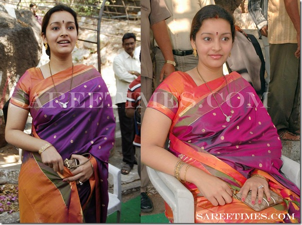 Renu_Desai_Traditional_Saree