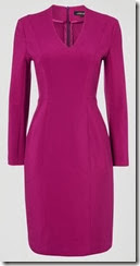 Jaeger Magenta Stretch Dress