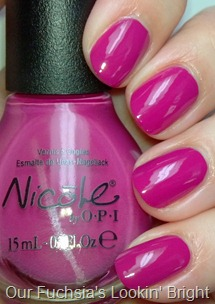 Nicole by OPI Our Fuchsia's Lookin' Bright