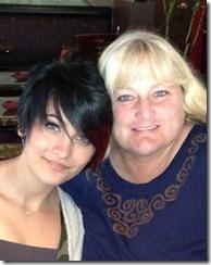 Paris reunites with mother
