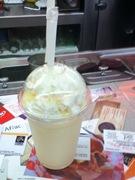 A small vanilla shake