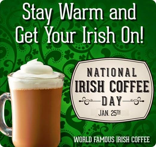 irish cofee day