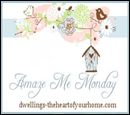 amaze me monday blog party button