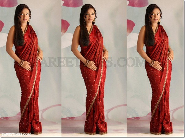 Vaishali_Red_Saree