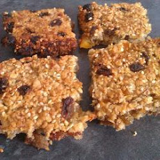 Banana And Apricot Flapjacks