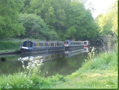 001  Moored below Iron Bridge Lock