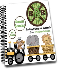 1st Grade Summer Learning RRR-