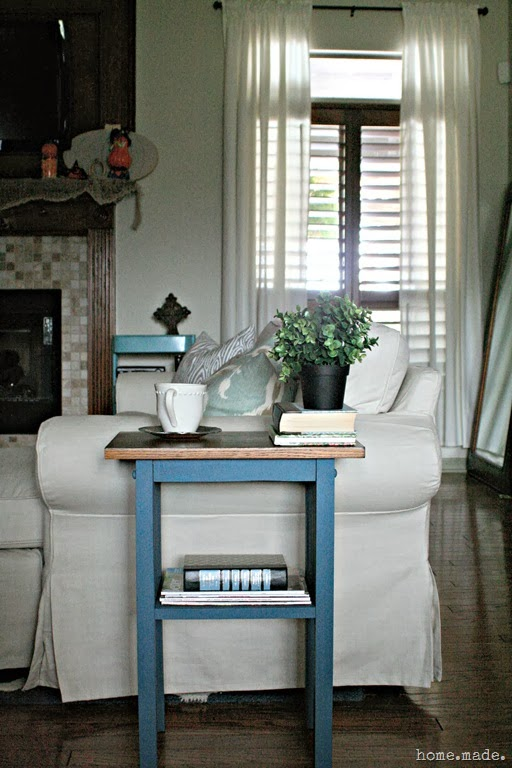 End Table Styling