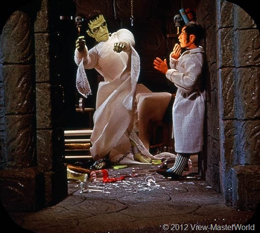View-Master Frankenstein (B323), Scene B1