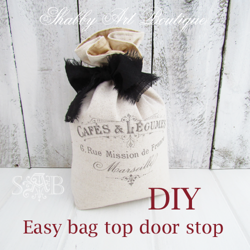 Shabby Art Boutique door stop 2