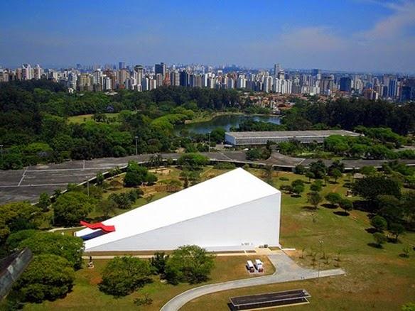 Auditorio Ibirapuera - Oscar Niemeyer, San Paolo