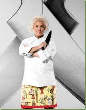 anne burrell iron chef