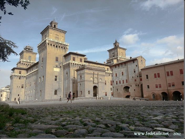 Veduta del Catello (anticato freddo 1), Ferrara, Emilia Romagna, Italia - View of the Castle ( antique cold 1 ), Ferrara, Emilia Romagna, Italy - Property and Copyright of www.fedetails.net