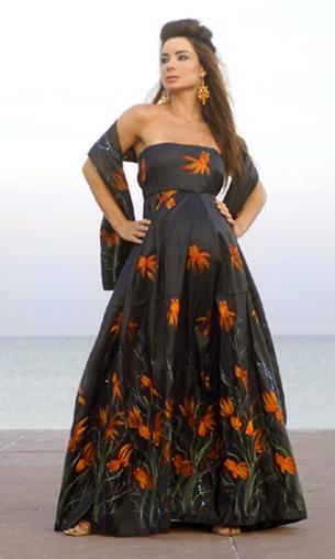 Vestidos de Fiesta Largos para Embarazadas2