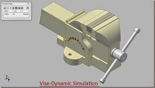 Vise-Dynamic Simulation_1