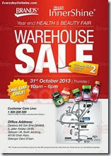 Brands Innershine Warehouse Sale Beauty Health 2013 Malaysia Deals Offer Shopping EverydayOnSales