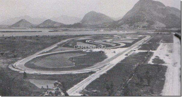 Autódromo Nova Caledônia, anos 60 (Jacarepaguá na época).