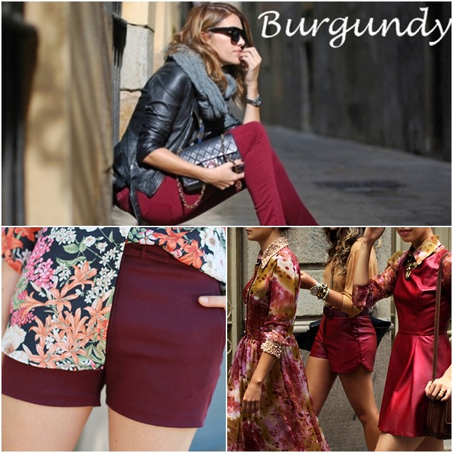 burgundy xx