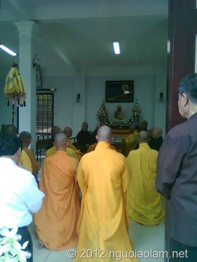 tang lễ hòa thượng Thích Minh Châu - 48