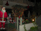 Decorated houses for Christmas in Naples-Long Beach