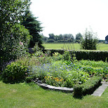 kitchen garden in Santpoort-Noord, Noord Holland, Netherlands