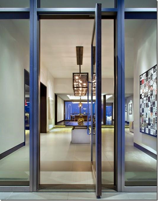 Grabill Windows And Doors Custom Aluminum Clad Pivot Door