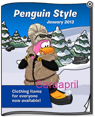 Club Penguin Codes For Clothes 2013 For Non Members