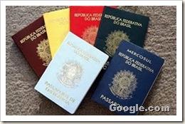 cores dos passaports