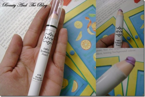 Review NYX Jumbo Eye Pencil In Oyster