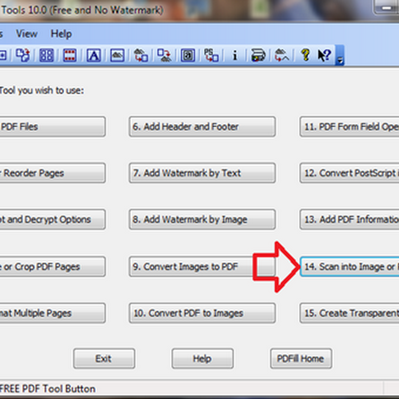 เครื่องมือฟรีสำหรับการสแกนเอกสาร หรือรูปภาพ ให้เป็นไฟล์ PDF