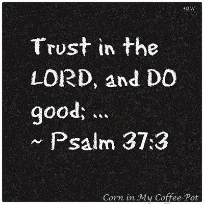 Psalm 37 -3