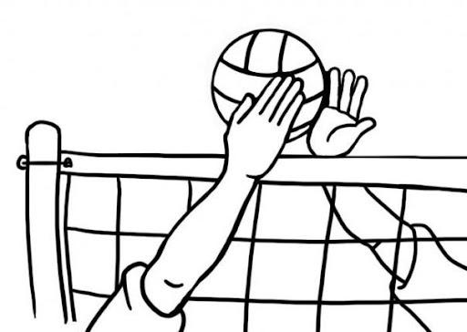 Dibujos de voleibol para dibujar - Imagui