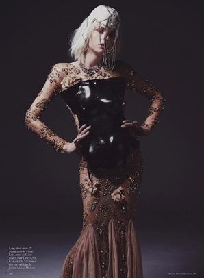 Andrej Pejic by Mariah Jelena (My People Were Fair And Had Sky In Their Hair - Black #16 Spring-Summ (6)