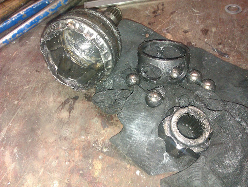 drivaksel  drivaksler kopling og gearkasse