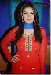 Tamil Actress Hansika Motwani @ Maan Karate Success Meet Stills
