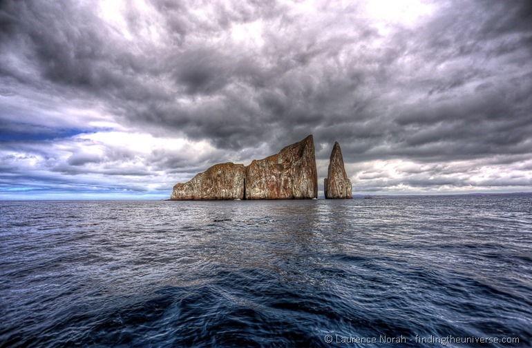 Kicker Rock vor San Cristobal, Galapagos