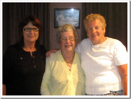 Kathleen, Aunty Joan and Dot.
