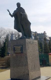 pomnik Kleofasa  Michala Oginskiego