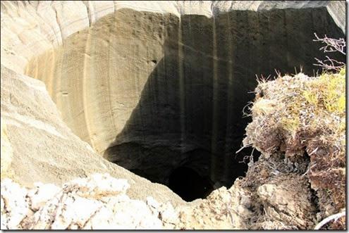 pozo, dia del juicio, tierra hueca, agujero, ovnis, agujero siberia 2