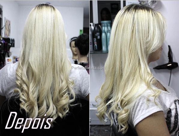 como arrumar a cor do cabelo loiro