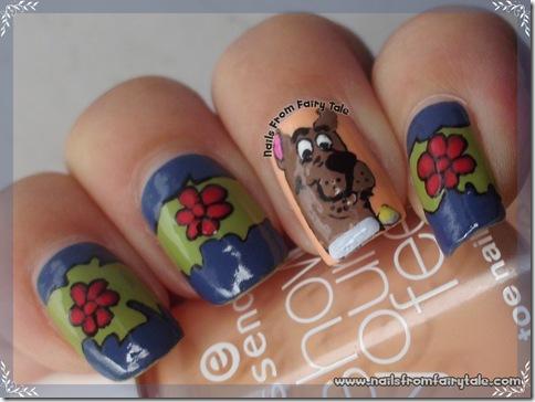 scooby doo nail art 2